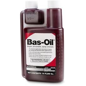 Bas-Oil Red Vegetation Management Spray Indicator, BASF