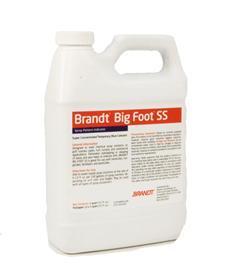 Brandt Big Foot SS Blue Spray Pattern Indicator, Brandt